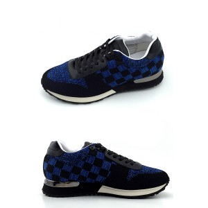 Louis Vuitton, Heren Sneakers, Blauw Checkered