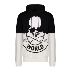Mastermind Japan, Men's Hoodie, Black White