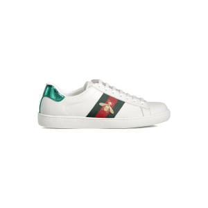 Gucci, Heren Sneakers, Wit Bee