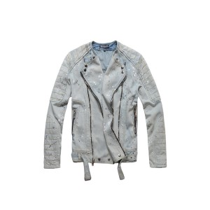 Balmain, Men's Jean Jacket, Light Blue