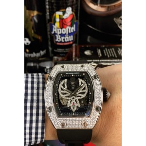 Richard Mille, Men's Watch, With Diamond, Black