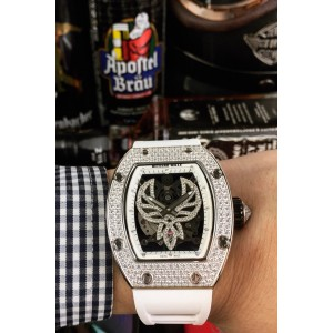 Richard Mille, Men's Watch, With Diamond, White