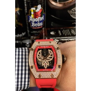 Richard Mille, Men's Watch, With Diamond, Red