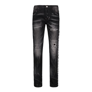 Dsquared, Men's Jean, With Line, Ripped