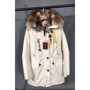 Parajumpers, Women's Jacket, Fur Collar, White