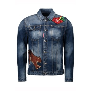 Dsquared, Heren Jas, Jeans