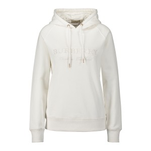 Burberry, Dames Hoodie, Wit