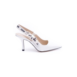 Christian Dior, Women Pumps, White