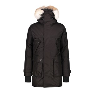 Nobis, Men's Jacket, Fur Collar, Black